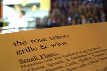 Rose_menu